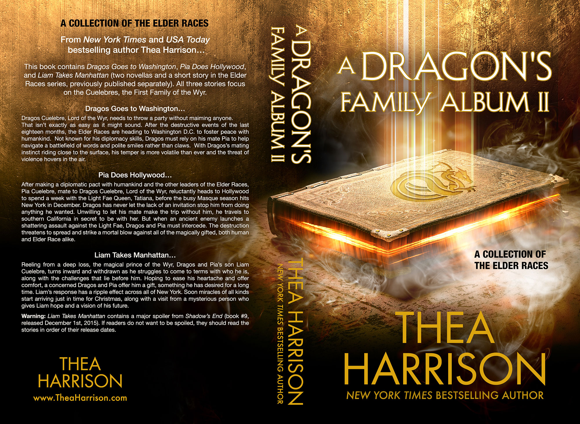 A Dragons Family Album II By Thea Harrison Print Coverflat